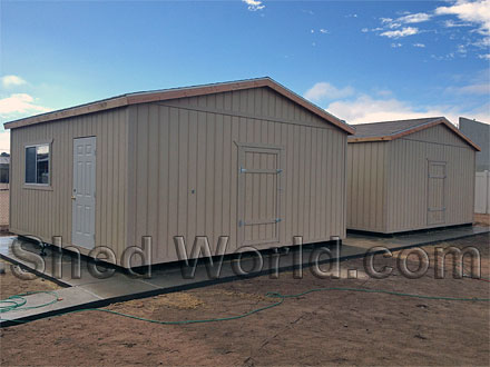 Super shed gallery for 16x20 garage price